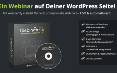 Webinarfly – Webinare in WordPress erstellen
