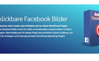 WP Plugin Anklickbare Facebook Bilder + Bildbearbeitung!