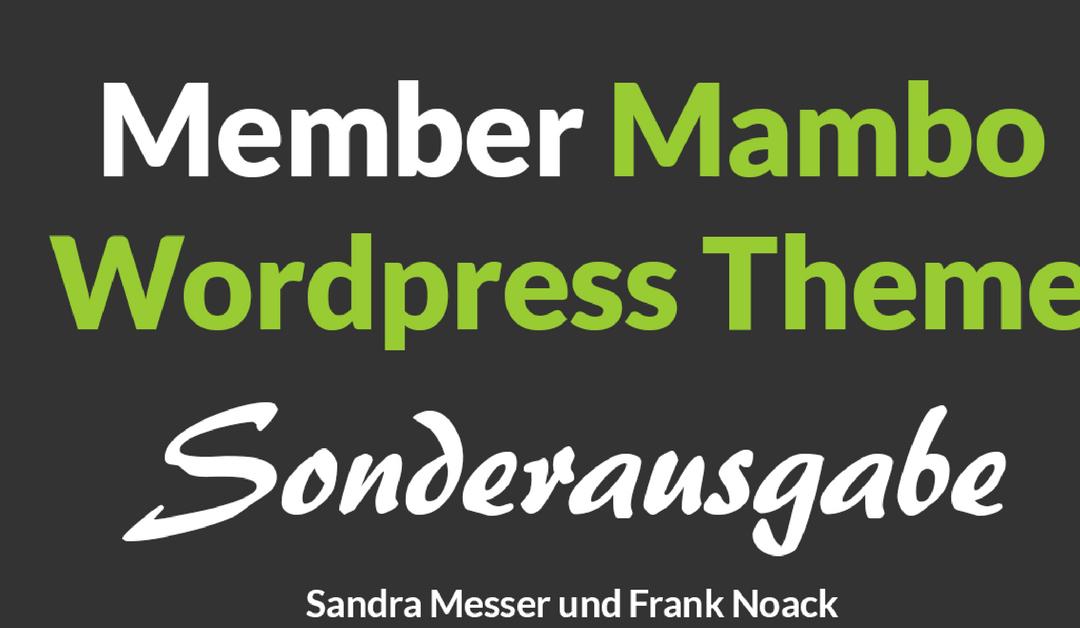 Member Mambo WordPress Theme