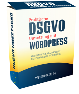 DSGVO WordPress Webseiten