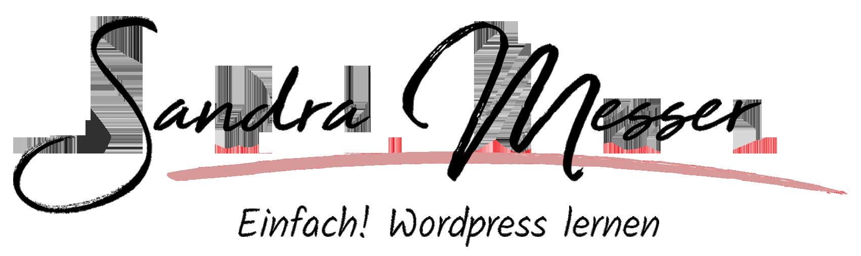 Logo frei Sandra Messer rosa zugeschnitten