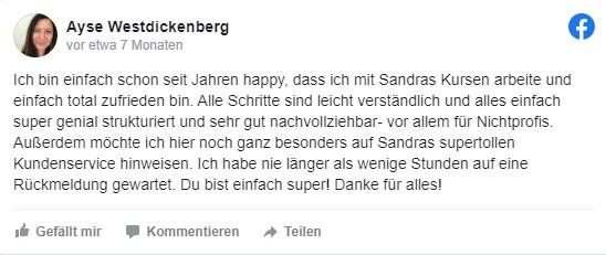 Sandra Messer Kundenbewertung 01