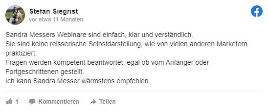 Sandra Messer Kundenbewertung 02