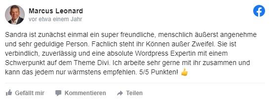 Sandra Messer Kundenbewertung 03
