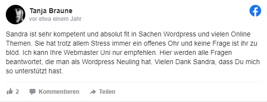 Sandra Messer Kundenbewertung 04