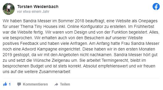 Sandra Messer Kundenbewertung 08