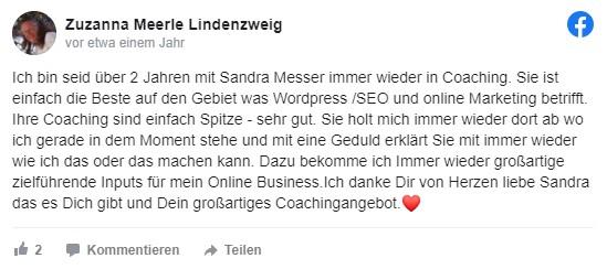 Sandra Messer Kundenbewertung 09