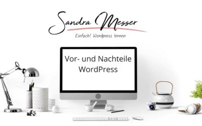WordPress Webseite: Vor- und Nachteile